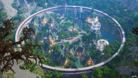 Rossignol BT on Twitter: Elven Village by @ExoBattle16 Comission @Iskillia s rendering