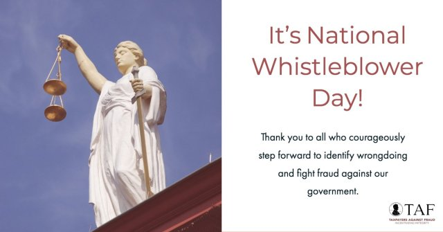 Image for the Tweet beginning: Since 1986, whistleblowers have recovered