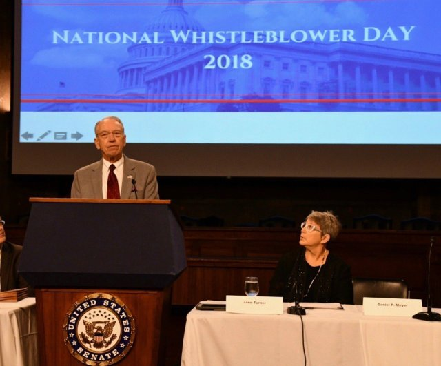 "Image for the Tweet beginning: ""Empowering whistleblowers to prosecute fraud"