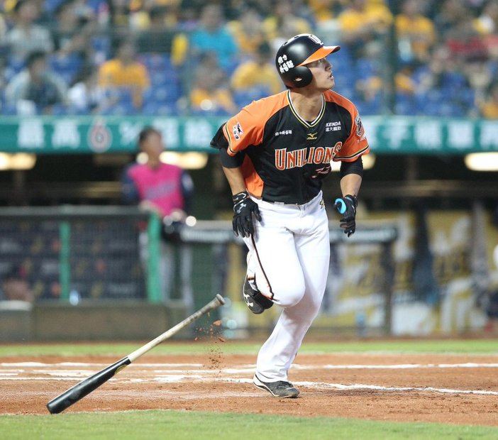 """CPBL STATS on Twitter: """"#UniLions' 蘇智傑 (Su Chih-Chieh) was ..."""