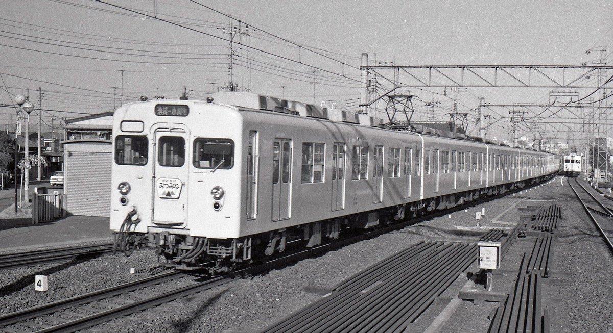 test ツイッターメディア - 東上線8000系「みつみね」40年ほど前、東上線も、このようなヘッドマークを付けた特急電車が休日に走っていました。行き先は、小川町になっていますが、前に連結されている編成は、秩父鉄道の三峰口まで走っていました。東上線、秩父鉄道乗り入れ復活させてほしいですね。#東武8000系 #みつみね https://t.co/Yn1rUgoYuk