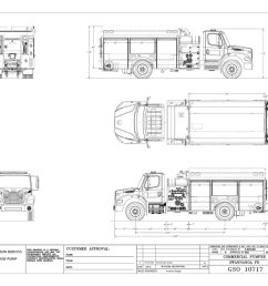 swannanoa fire department s new kme freightliner m2 112 pumper just delivered pic twitter com qz9upuvuq4 [ 1200 x 800 Pixel ]