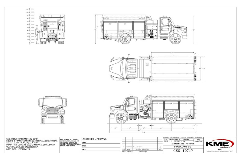medium resolution of swannanoa fire department s new kme freightliner m2 112 pumper just delivered pic twitter com qz9upuvuq4