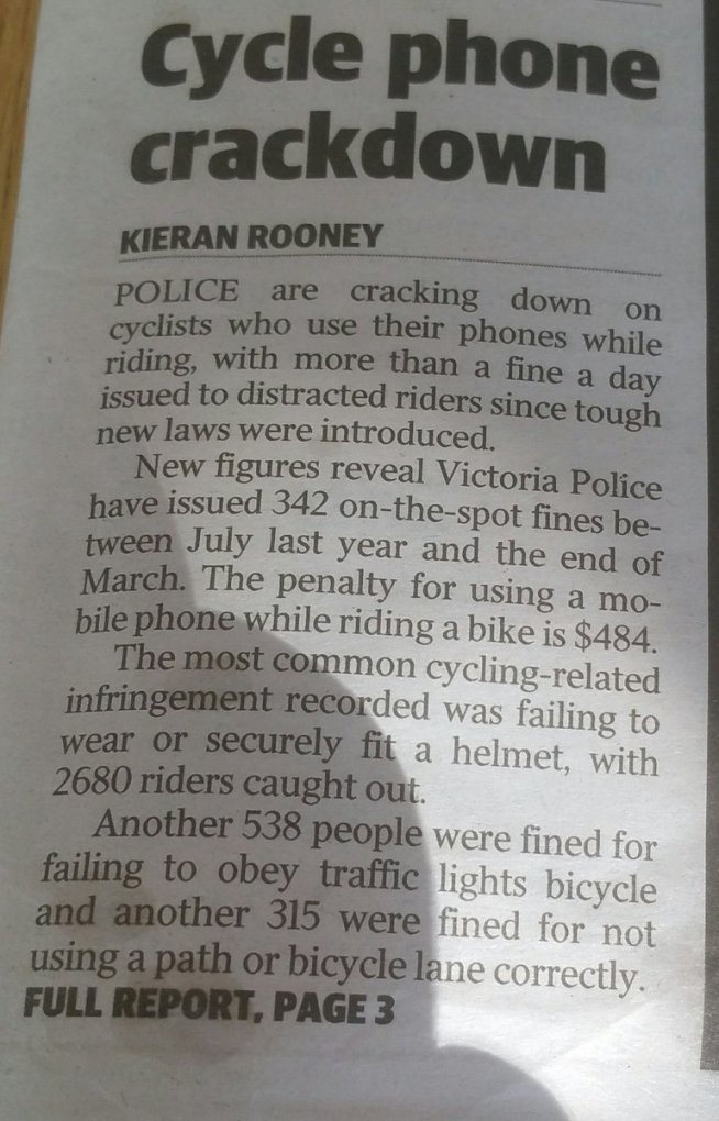 """test Twitter Media - """"The Trump phenomenon"""" as regular """"as clock work"""",  80% increase in cycling deaths.... is met by the """"Crack down"""" headline on cyclists. https://t.co/BYGGhsp1u2"""