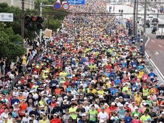 test ツイッターメディア - @8695bba ちなみに那覇マラソン(の一部でこれくらい) https://t.co/tbrX8USYsv