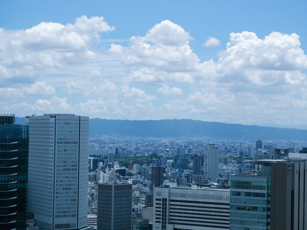 test ツイッターメディア - 大阪でいつも行く梅田スカイビル、めっちゃ好きー‼︎ でもマニアックなのかな…周りの人は結構知らない😅 今回も行ったぞーー! 造形美、空中庭園から見る大阪、空…スカッとする! 4枚目の拡大すると出てくる大阪城…かわいい😅 https://t.co/UPL8s0ul9f