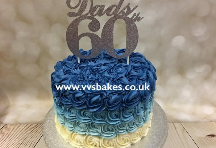 Vanessa Brewster On Twitter 60 Years Young Ombré Vvsbakes Cake