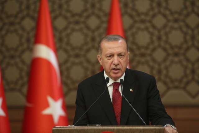 Turkey's president wants the country to boycott US-based electronics makers...