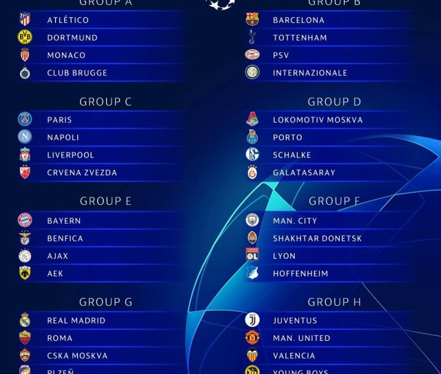See What People Are Saying About Uefa Champions League Group Fixtures