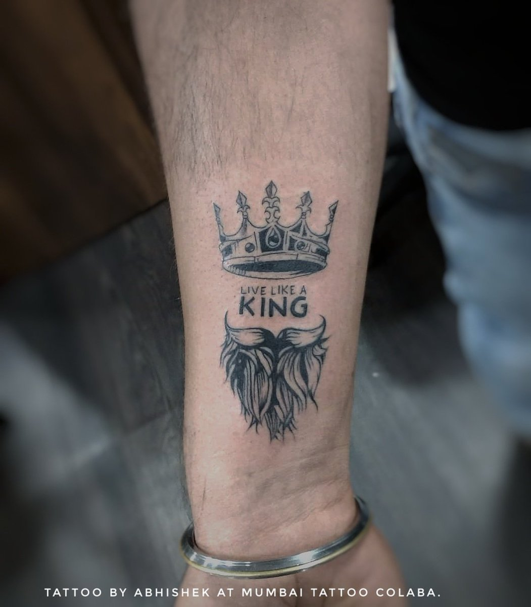 King Crown Tattoo