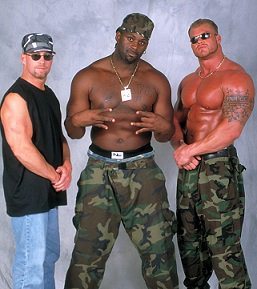 """WCW 4 Ever on Twitter: """"The No Limit Soldiers #WCW… """""""