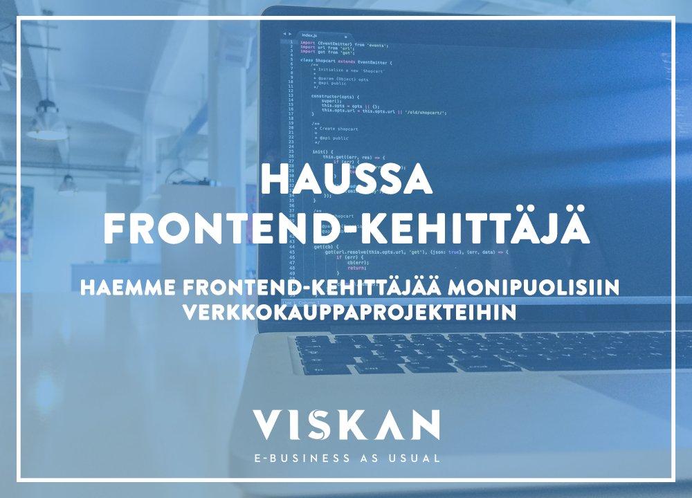 Twitter-kuva käyttäjältä Viskan Suomi