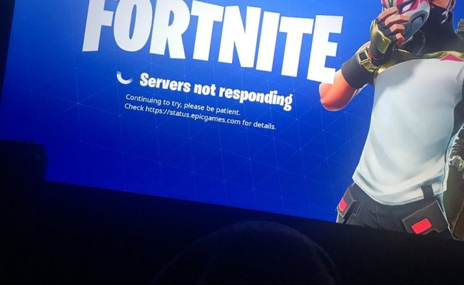 Why Are Fortnite Servers Not Working Fortnite Servers Not Responding Cute766
