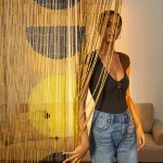 Urban Outfitters On Twitter Bring All The Boho Vibes Into Your Space With This Bamboo Beaded Curtain Https T Co O3vicshl2k