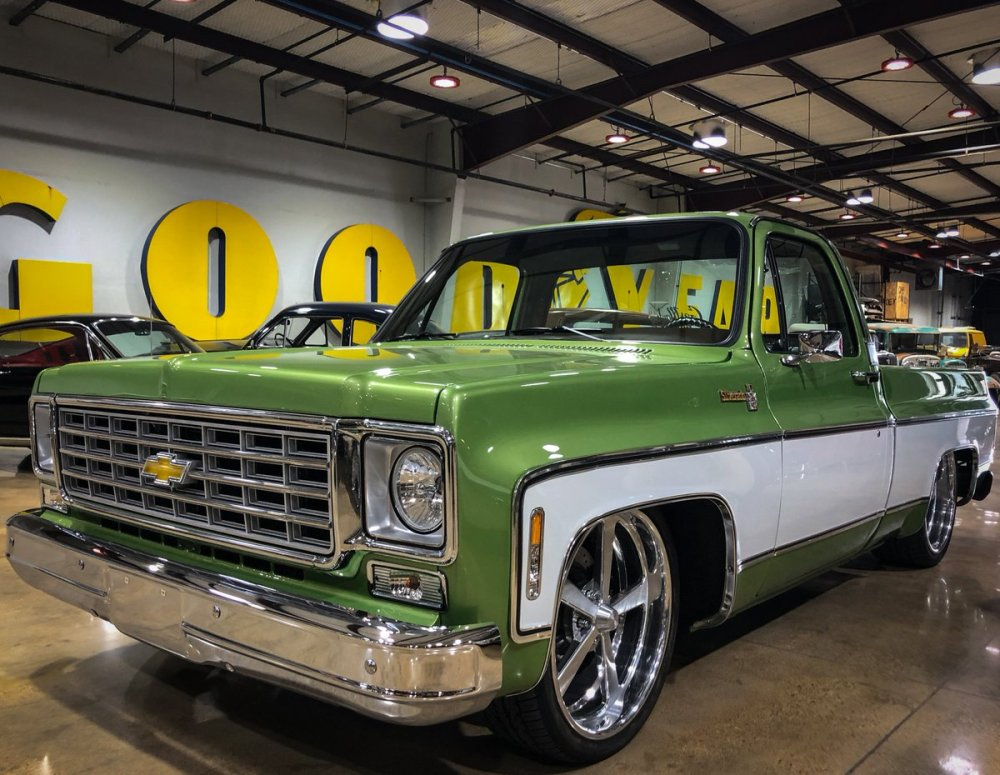 medium resolution of the 76 chevy c10 is as good as it gets for an old truck where is this build on your list of all time favorites gasmonkeygarage fastnloud fastnloudtv
