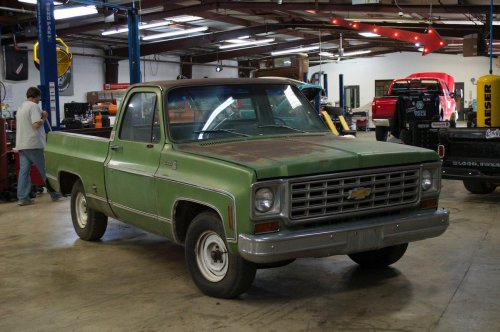small resolution of gas monkey garage on twitter a build that we loved so much we bought it back the 76 chevy c10 is as good as it gets for an old truck