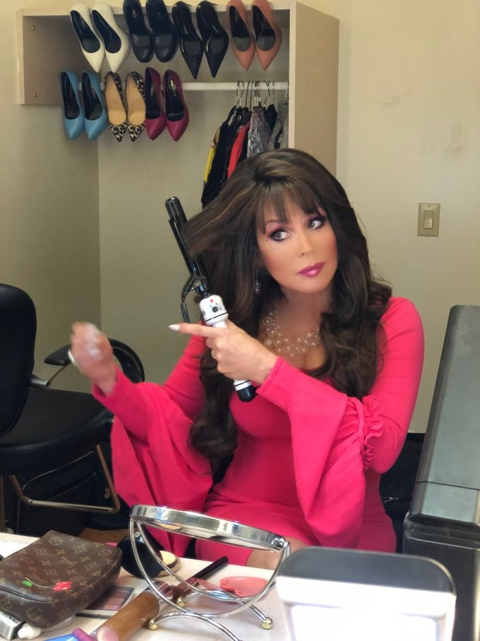 "marie osmond on twitter: ""last-minute touchups before"