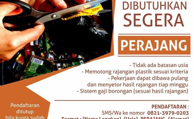 Lowongan Kerja Yang Bisa Dibawa Ke Rumah Daerah Tangerang Cute766