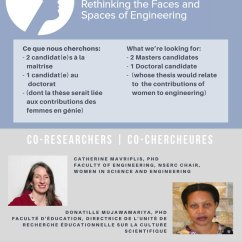Nserc Chair Design Engineering Dining Covers Australia Cwse On Twitter Recruiting Graduate Students For Research Theses In The Service Of Women Uottawa Faculty Or Education