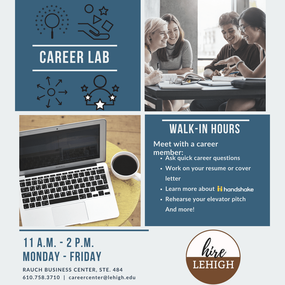 We Got You Covered For Resume Reviews, Cover Letter Edits, Job Or  Internship Searches, Career Expo Prep And Much More. Bring Your Laptop And  Your Questions!