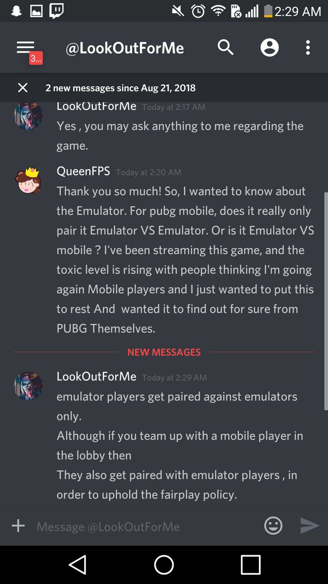 Undetected Emulator Pubg Mobile : undetected, emulator, mobile, QueenFPS, Twitter:, Emulator, Player,, Promise, Servers, Deticated, EMULATOR, Talked, Developers, Myself