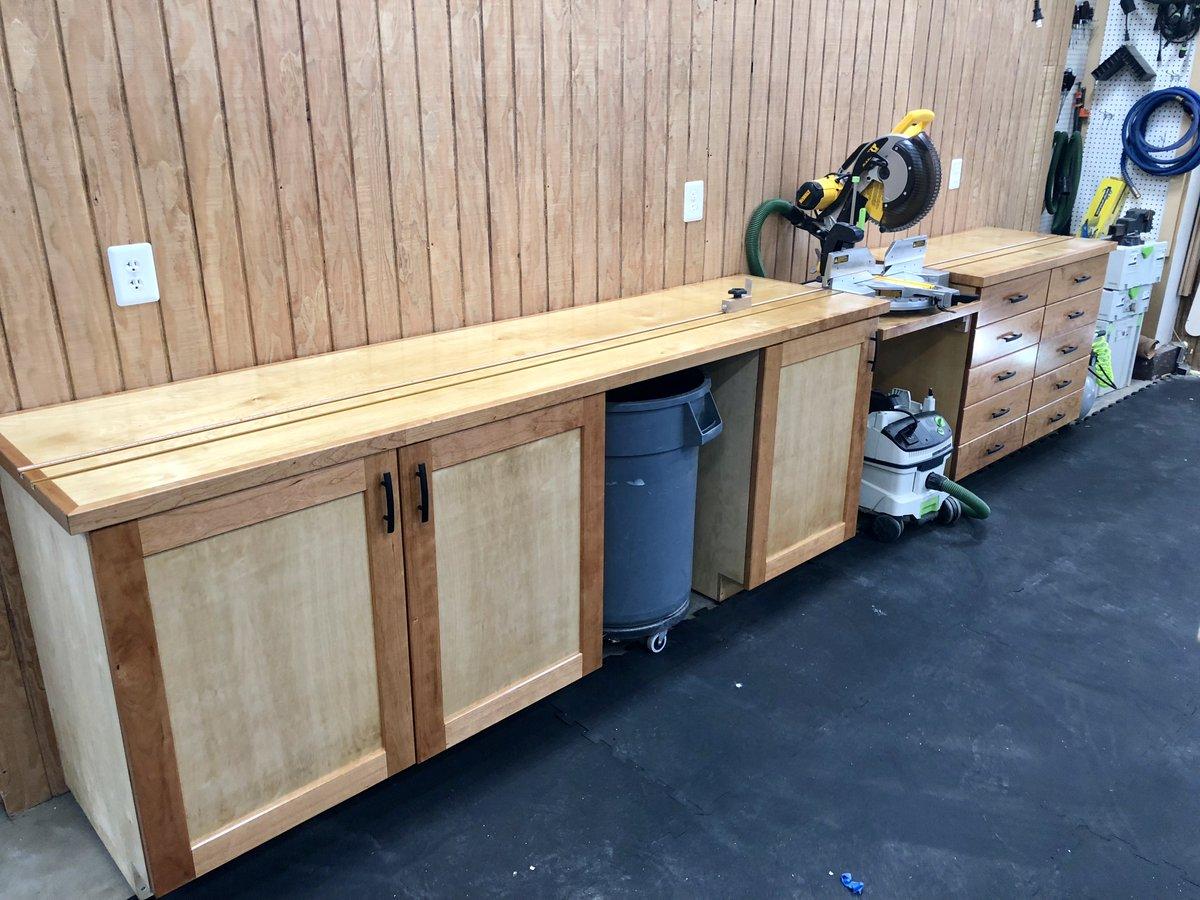 Wood Whisperer Workbench Finish