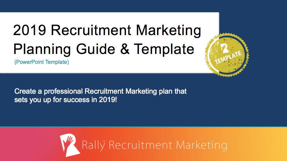 The marketing plan is devised for making the recruitment agency attract the target audience and establish a business or recruiting. Talemetry No Twitter 2019 Is Just Around The Corner Don T Fall Behind Your Competitors Check Out This Recruitment Marketing Planning Guide To Help Your Organization Accomplish Its Annual Hiring Goals Https T Co Whbofmsaaj Https T Co Smgkk975pt