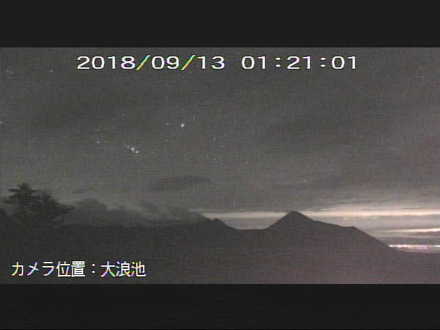 test ツイッターメディア - 星がくっきり新燃岳。 https://t.co/ETGAjRXQlM