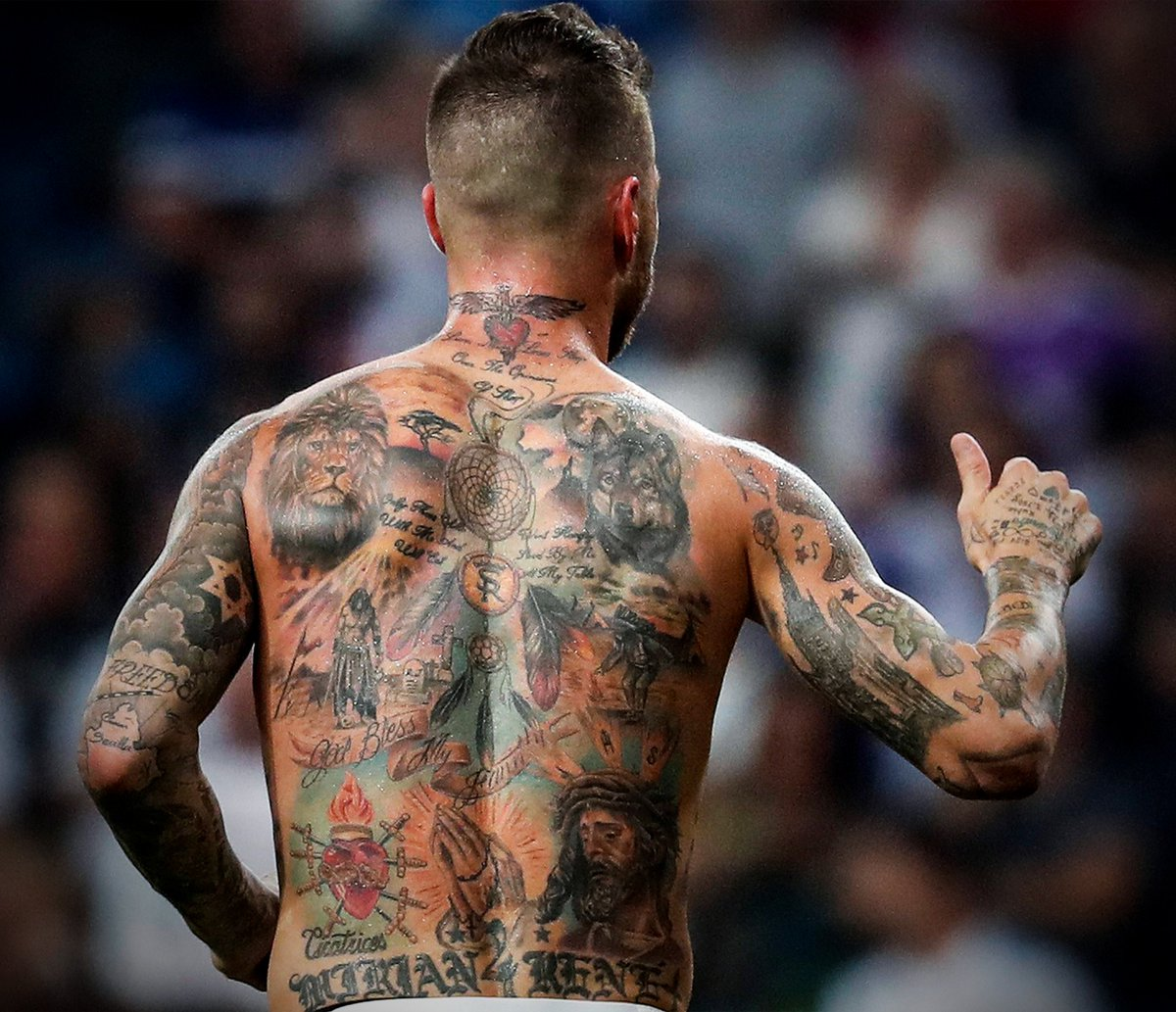 Sergio Ramos Tatto