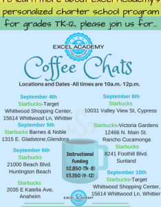 Excel academy come stop by one of our coffee chats to meet staff and get all your questions answered check out dates locations for also excelacdmy twitter rh