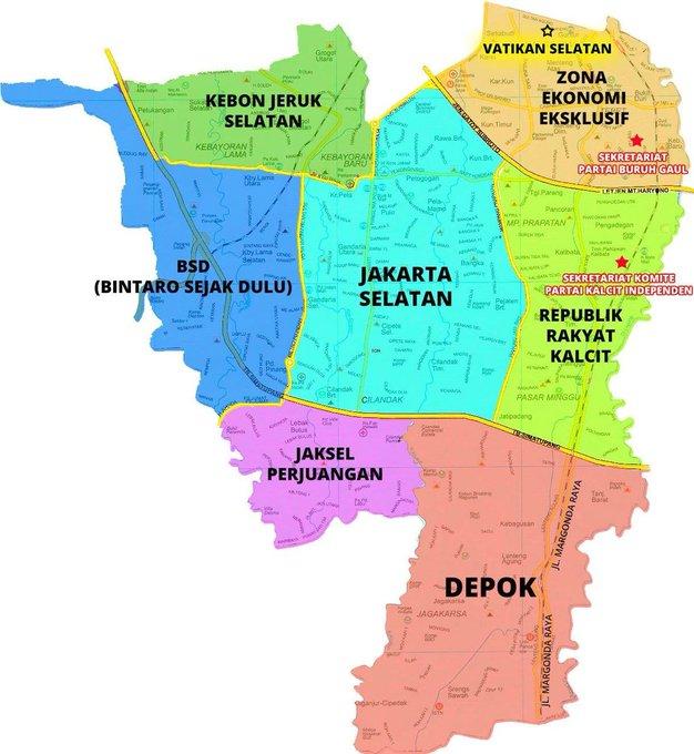Yang ngaku anak Jaksel Cek Dulu Beneran Jakarta Selatan