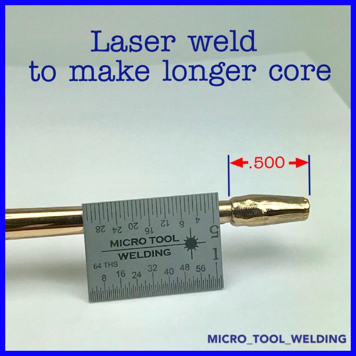 hight resolution of micro tool welding