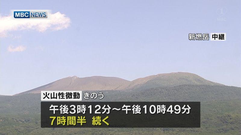 test ツイッターメディア - 【新燃岳で7時間超の火山性微動】 霧島連山の新燃岳で、4日地下のマグマの動きを示す火山性微動がおよそ7時間半にわたって観測されました。7時間を越える火山性微動が観測されたのは今年3月以来です。 #新燃岳 #鹿児島 https://t.co/uueINigB0j https://t.co/SZn5DeJpiJ