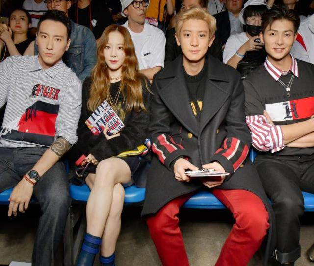 Sunnywang Chanyeol Taeyeon And Zhangmingen Are Front And Center
