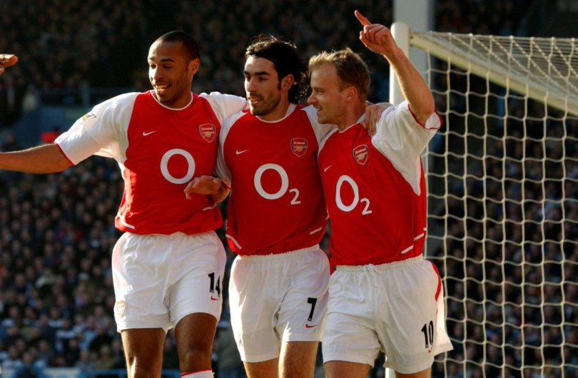 "CaughtOffside on Twitter: ""Thierry Henry, Robert Pires and Dennis ..."