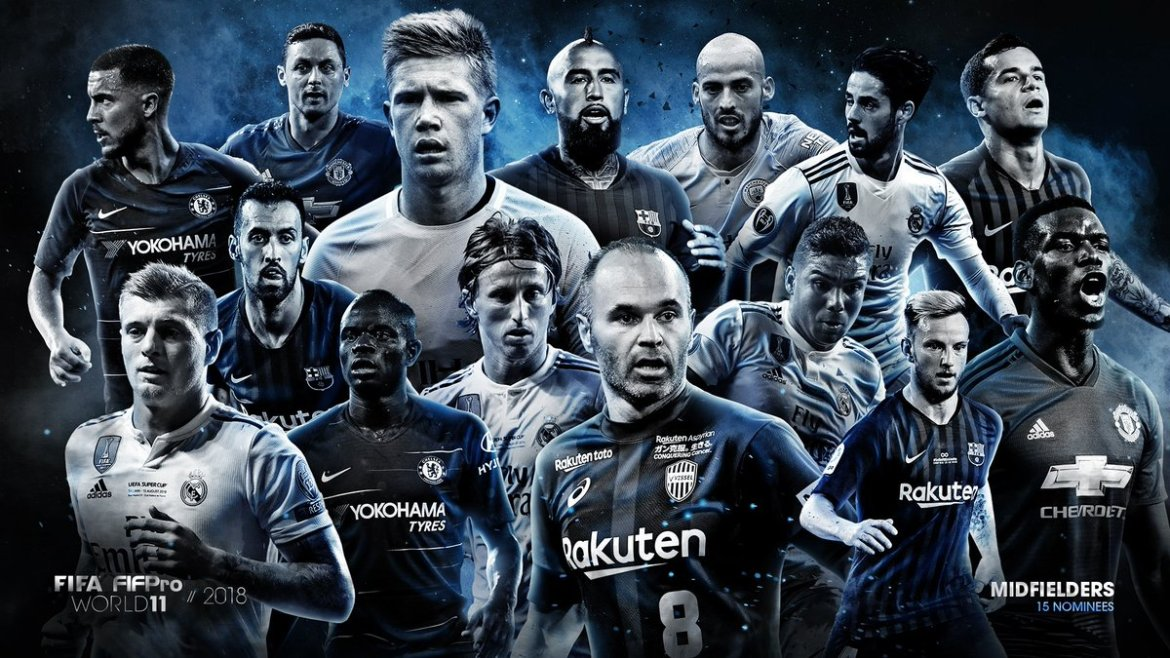 Image result for FIF Pro and FIFA World XI