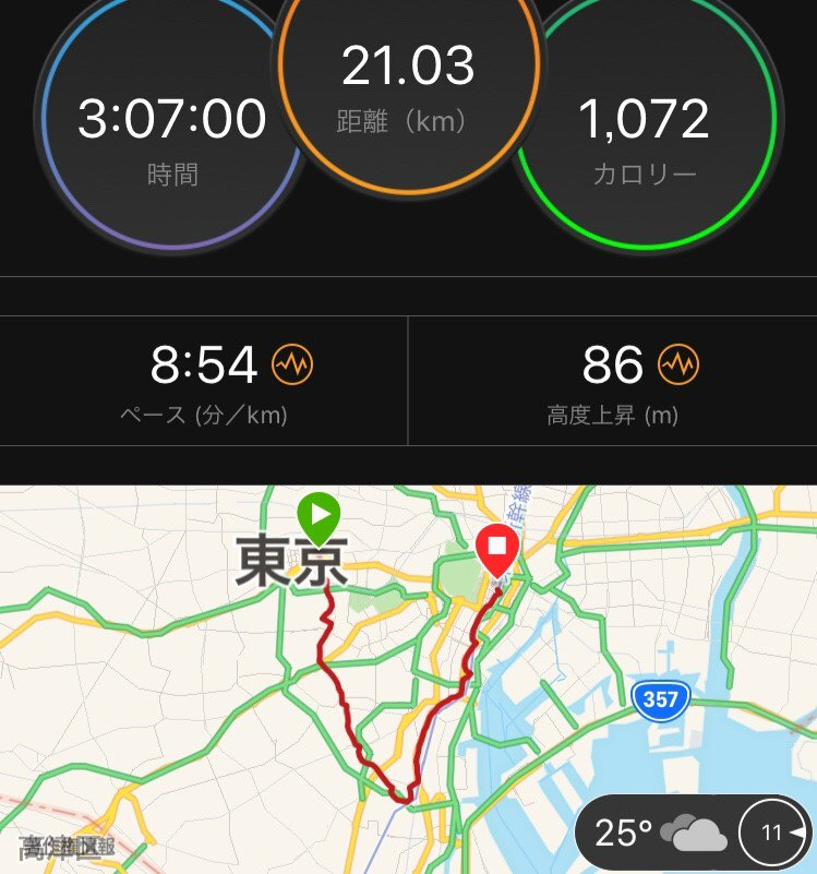 test ツイッターメディア - 昨日は新宿から東京まで山手線を半周しました🏃 ラン仲間と一緒だったのとKAYANO25のおかげで走りきれました。 楽しかった‼️ #kayanolover #KAYANO25 https://t.co/y1jAprCJoS