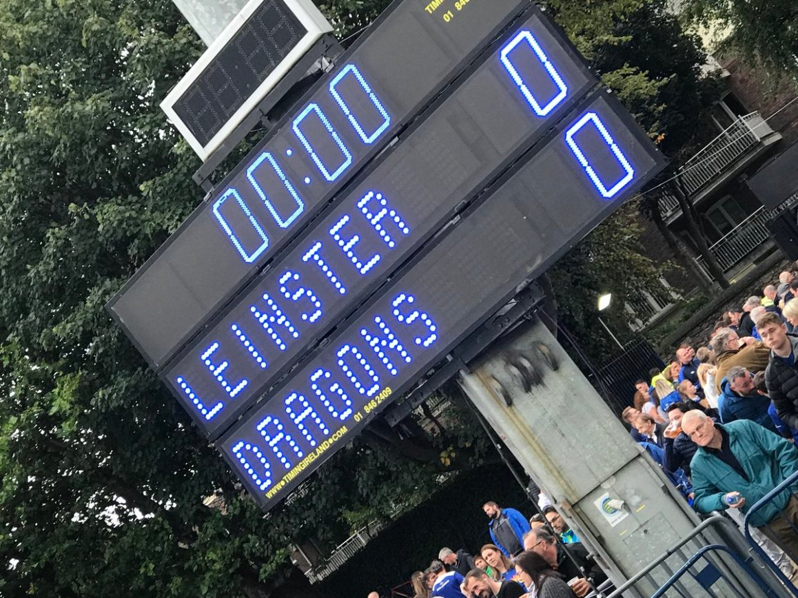 test Twitter Media - We are in the RDS Dublin today for EirSport, it's Leinster V Dragons Pro14 clash https://t.co/XB7B01Dgrm