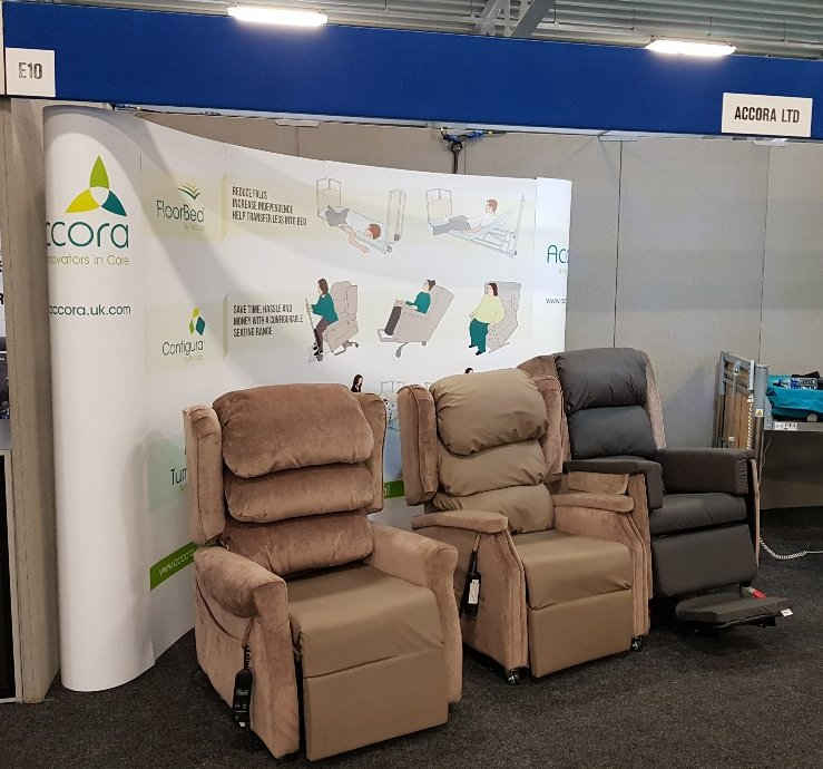 accora chair accessories how to recane a ltd on twitter all set up and ready go rise we would love speak you if are attending the show welcome come