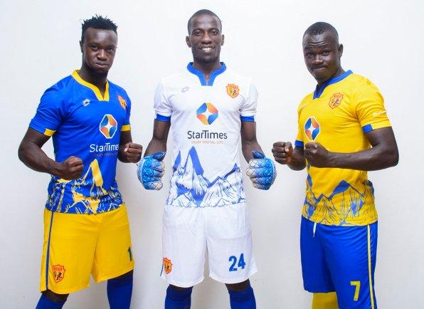 La maglia del KCCA, squadra ugandese con brand Lotto | Numerosette Magazine