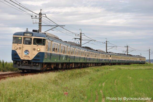 test ツイッターメディア - 7年前の今日は... 「THE FINAL!! 113!」北総コース。  往路が総武本線経由、復路が成田線経由で運転。マリ217編成とマリ116編成が手を繋ぎ、最後の銚子へ入線を果たしました。 https://t.co/WzvfAtJzoN