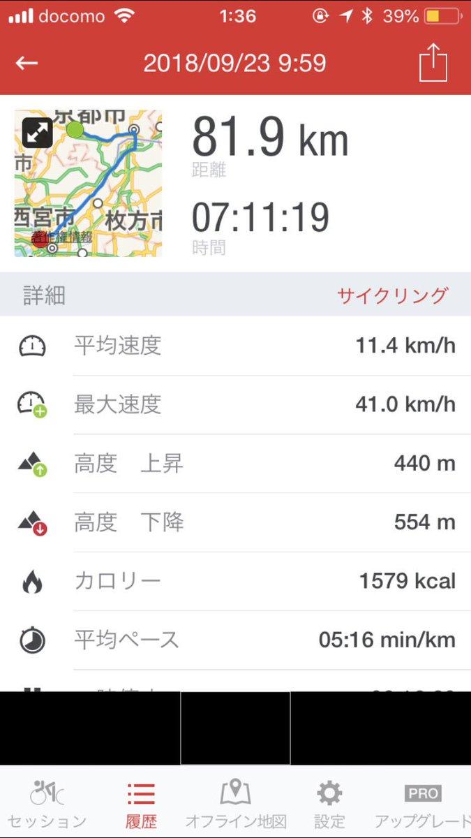 test ツイッターメディア - 昨日は亀岡から京都に行って、そして京都から大阪市まで帰ってきた。お尻がめっちゃ痛いし、日焼けがすごいし、きつかった。今回鳥取砂丘諦めたけいつか行きたいな  #自転車旅 https://t.co/PHEVNsNeZO