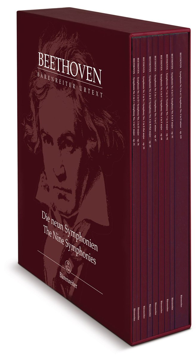 """But what makes Del Mar's Beethoven editions, particularly the symphonies, so unique, is the many years of collaboration with performing musicians""  Created in collaboration with our late founder Caroline Brown"