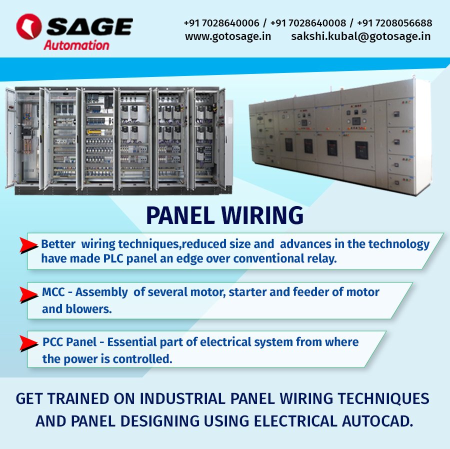 medium resolution of  electrical autocad better wiring techniques reduced size and advances in the technology have made plc panel an edge over conventional relay