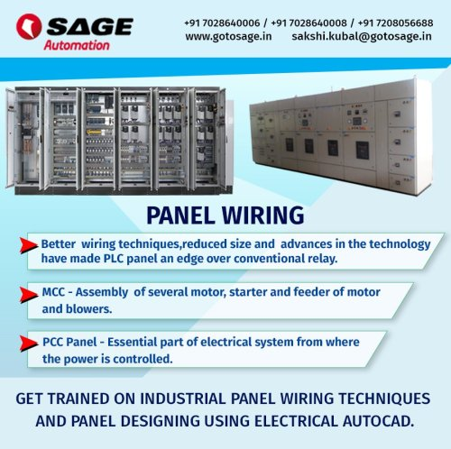 small resolution of  electrical autocad better wiring techniques reduced size and advances in the technology have made plc panel an edge over conventional relay