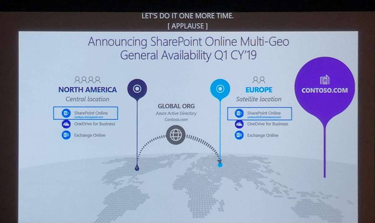 hight resolution of announcing sharepoint online multi geo ga for q1 cy19 joining exchange online and onedrive msignite office365pic twitter com ejzxkybd9t