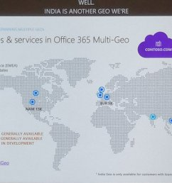 djavan roa on twitter announcing sharepoint online multi geo ga for q1 cy19 joining exchange online and onedrive msignite office365  [ 1200 x 673 Pixel ]