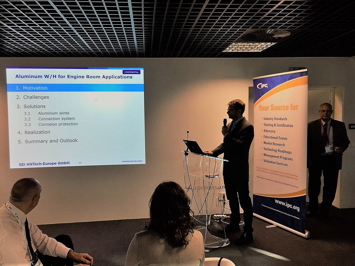 hight resolution of why he s in lyon france photobombing er attending the ipc whma wire harness innovation conference you can t hide your lyon eyes dave