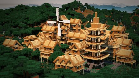 Build Minecraft Village 2