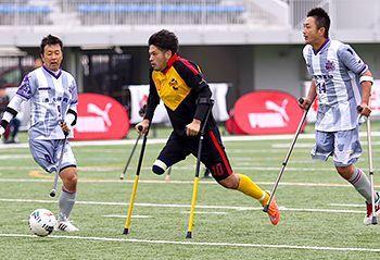 test ツイッターメディア - 1本の脚でプレーするサッカーを知っていますか? 沖縄出身の日本代表キャプテン古城暁博が語るアンプティサッカーのおもしろさ - 琉球新報 https://t.co/9uNYUCJKhJ https://t.co/WtvOvqMJXa